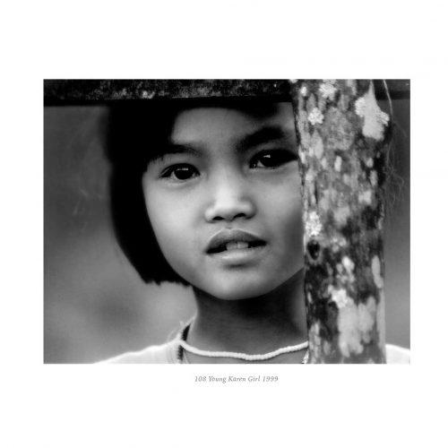 Young Karen Girl by Galen Garwood